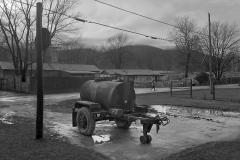 Water wagon, Alta Gardens Trailer Park, Pownal, Vt.