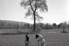 Testing soils for PFOA contamination, Bennington, Vt.