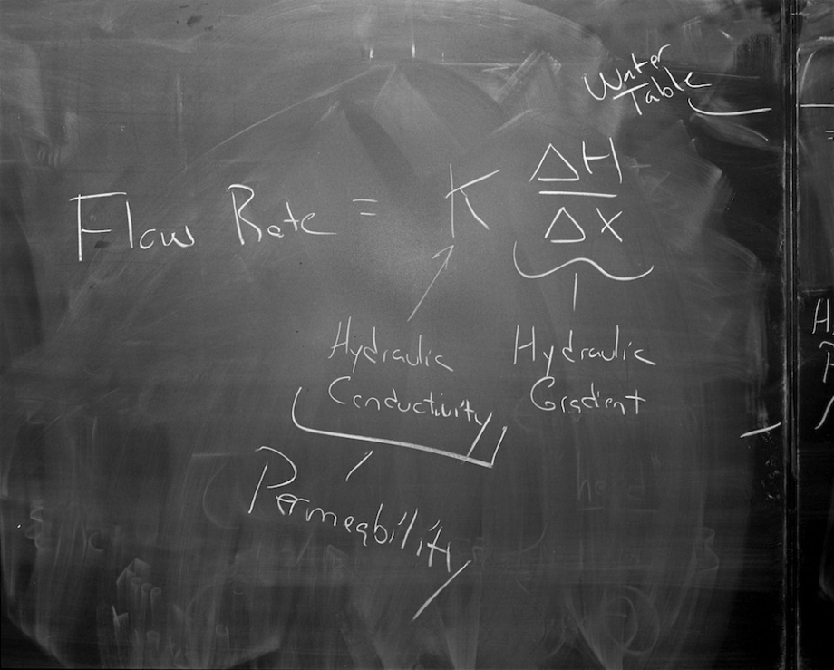 Blackboard, Bennington College, Bennington, Vt.